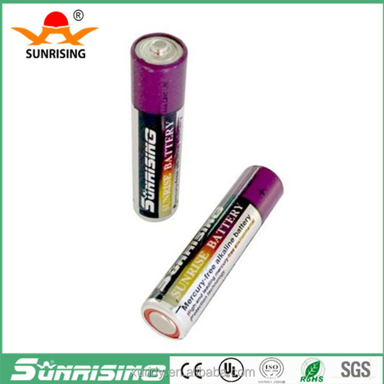 Battery alkaline lr03 um-4 for alarm device