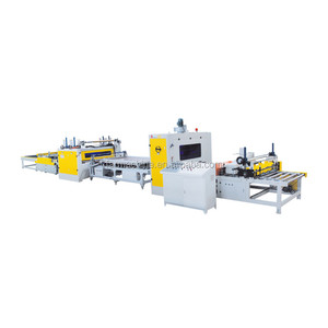 wood based panel machinery hot melt glue lamination machinery production line for MDF