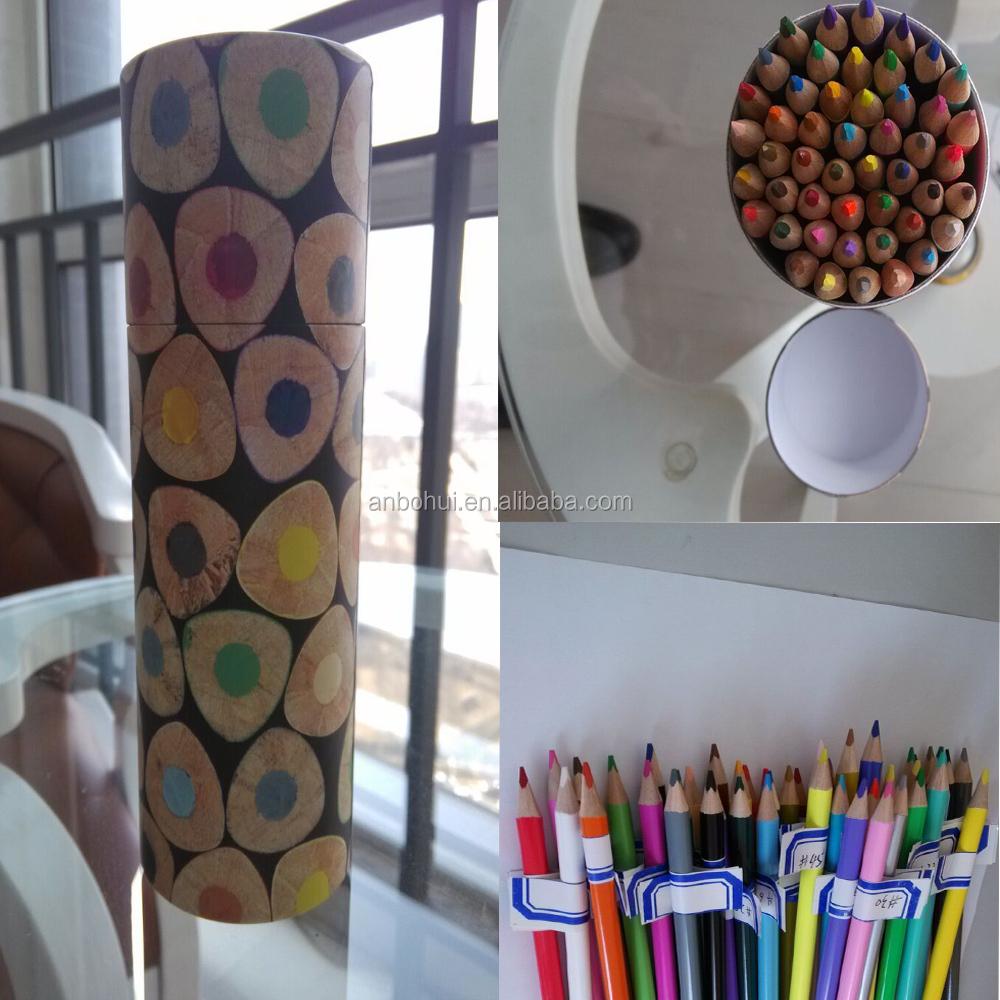 Putaran Heksagonal Segitiga 7 inch ramah lingkungan pensil