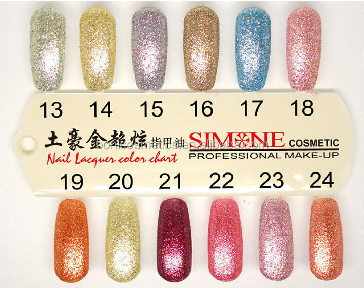 Special Chrome Nail Polish With Display Professional Salon Gel ...