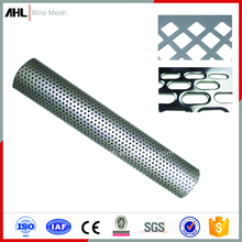 1mm 4x8 Hole Micro Galvanized Aluminium Stainless Steel Decorative Panels Plate Lowes Hexagonal Mesh Perforated Pipe Metal Sheet