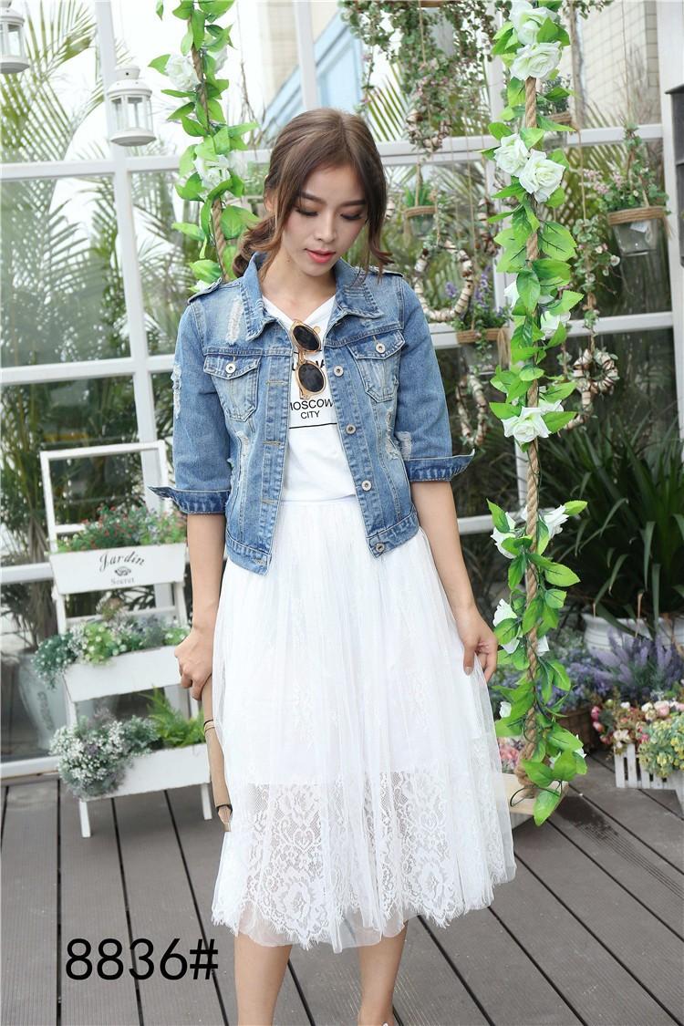 bca3b1e601b Wholesale Voobuyla Brand Plus Size 5XL Spirng Denim Jacket For Women ...