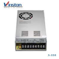 WINSTON S-350 Single Output 0-50A 5-48V 60V 70V 110V DC 350W LED Power Supply