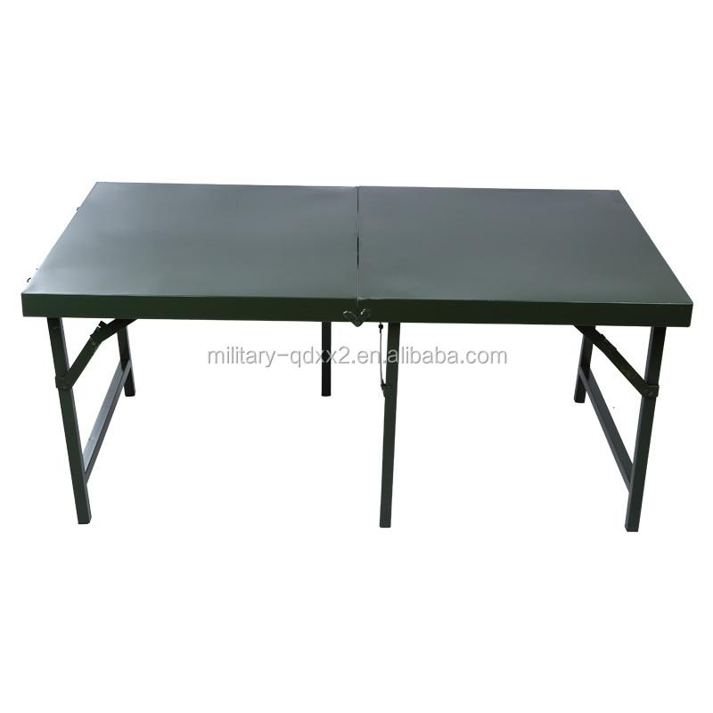 De Militar mesa Metal Camping Mesa Ajustable Buy Plegable Plegable Tlc3FJK1