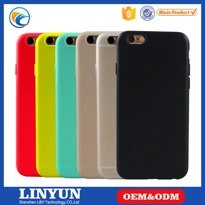 Case for iphone 6/6s,for iphone 6/6s China Supplier Low Price Ultra-thin true color matte soft TPU case