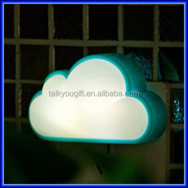 Fancy Automatic Led Energy Saving Cloud Wall Plug Night Light Lamp ...