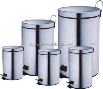 Stainless Steel Step Bin 20 Liter Waste Bin 20l Kitchen Trash Can