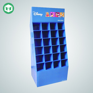 Exhibition Floor Stand Toy Display Rack with Paper Material