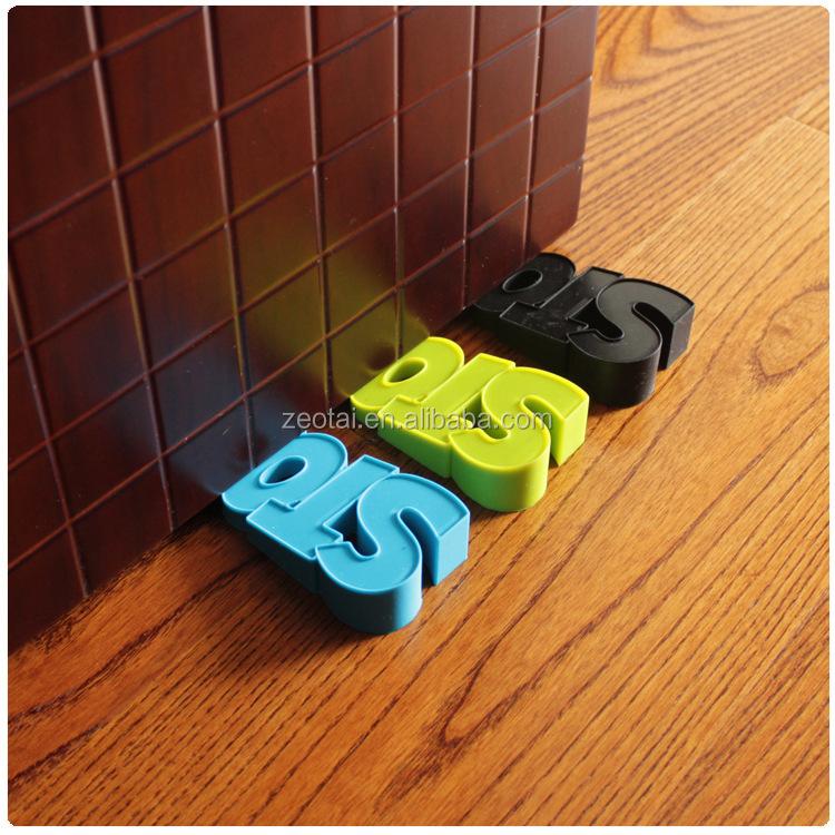 Dekorative Türstopper Gummi Tür Keil Weiche Farbe-Blatt Silikon ...