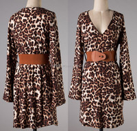 leopard dress, women dress model, 80s fancy dress women