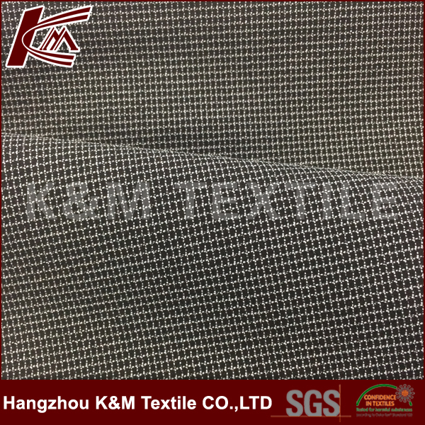 high quality 94%polyester 6%spandex cation 4 way stretch fabric for garment textile fabrics