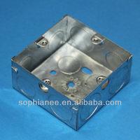 Dubai Hotsale G.I Socket Electrical Floor Outlet Boxes
