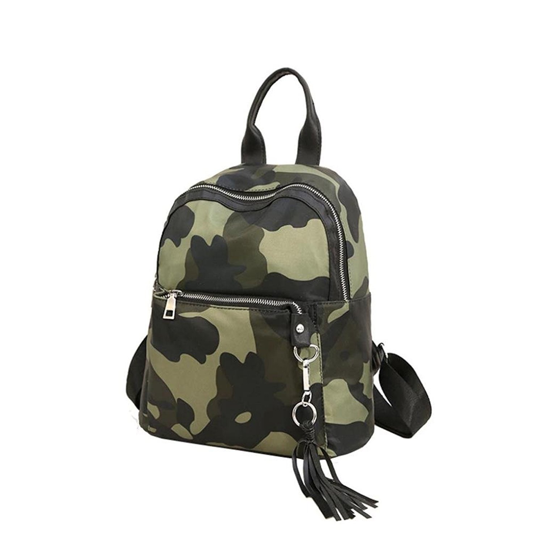 Allywit Women Girls Preppy Tassel Shoulder Bookbags School Travel Backpack Bag