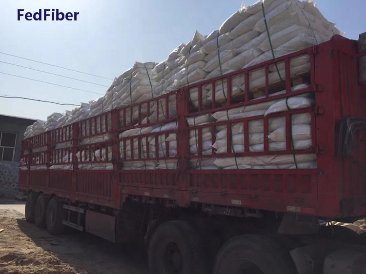 polyacrylonitrile fiber price low with high quality PAN fiber
