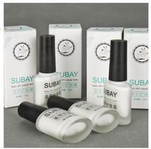 White Peel Off Liquid nail art Tape Latex Tape finger skin protected liquid Palisade Easy clean