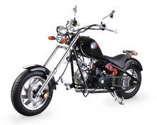 chopper motorcycle with 110cc engine displacment