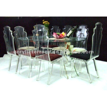 Acrylic Perspex Dining Table And Chairs Buy Acrylic