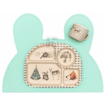 Good Quality Sell Well 100% Food Grade Baby Kids Silicone Table Placemat Plate
