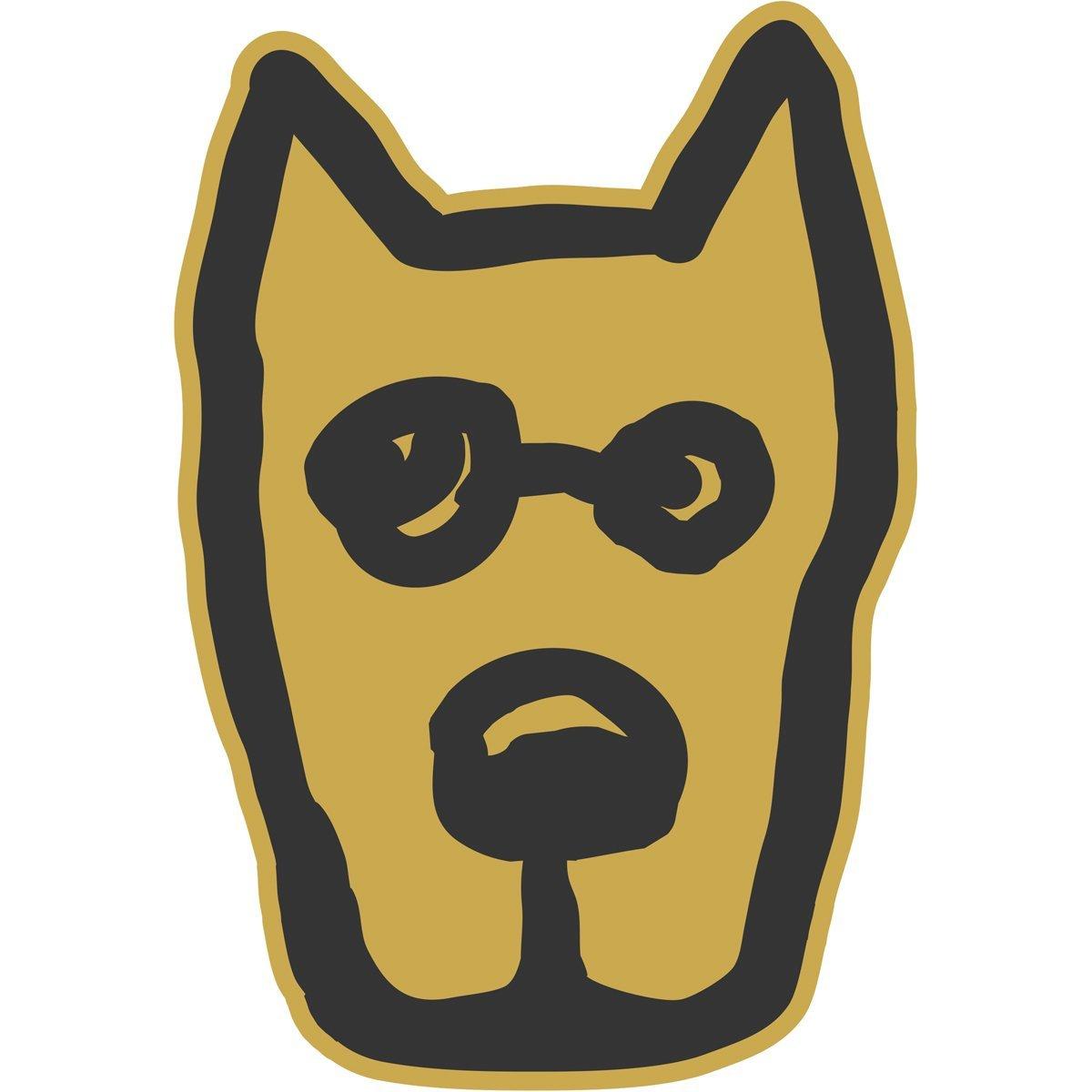 Life is Good. Die Cut Sticker - Rocket - Summer Gold