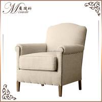 Art Deco style gerrard upholstered club chair
