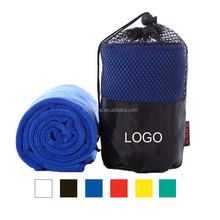 cheap wholesale quick-dry sports sweat absorbing towel, custom printed promotional gym yoga towel