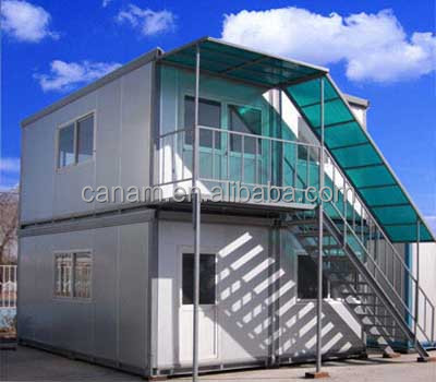 Low cost prefab modular container house