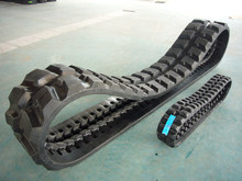 excavator steel and rubber track /track shoe /track pad