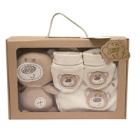 Hot Selling Candy Bear Cute Soft Mini Baby Gift Set For Newborn