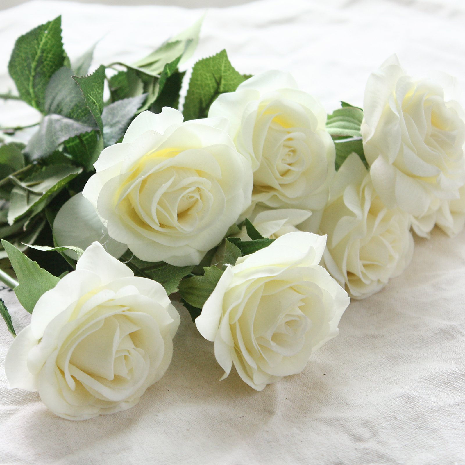 Buy wholesale artificial silk latex rose flowers wedding bouquet buy wholesale artificial silk latex rose flowers wedding bouquet bridal decoration bundles real touch flower bouquets realistic flower bouquet the light izmirmasajfo