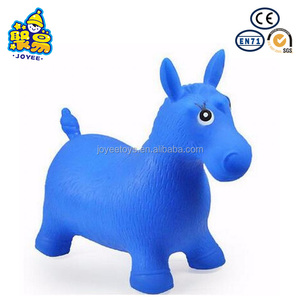 Lovely Toy Inflatable Riding Bouncing Horse Toy for Children