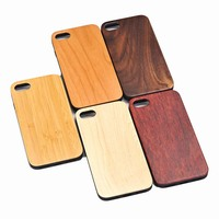 Popular Custom Design Engraving Bamboo Wood Phone Case For iPhone Mobile Phone,Mobile Phone Case Accessories