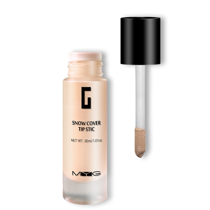 Professional Oil Control Silky texture Make Up Matte Full Coverage Liquid Base Foundation ครีมคอนซีลเลอร์เครื่องสำอางค์