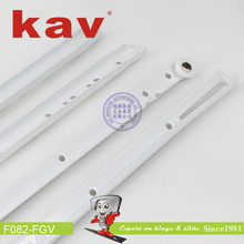 colorful powder coating full extension drawer slide FGV type