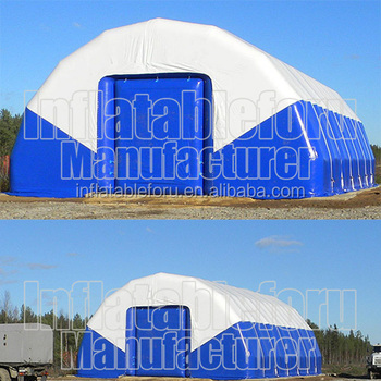 guangzhou manufacturer big airtight inflatable storage shed for sale