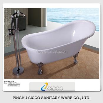 Freestanding soaking tubs standard bathtubs deep soaking for Deep soaking freestanding bathtubs
