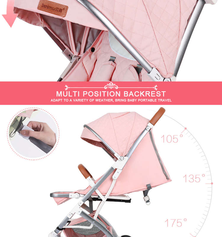 High view sweet tenderly stroller baby stroller 263 F