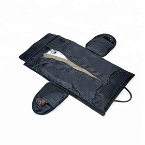 Fashionable waterproof durable women men foldable suit travel bag