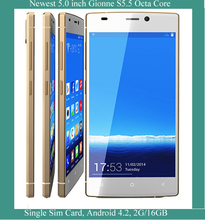 5.0 inch mobile phone MTK6592 Octa core Android 4.2 Gionee Elife S5.5