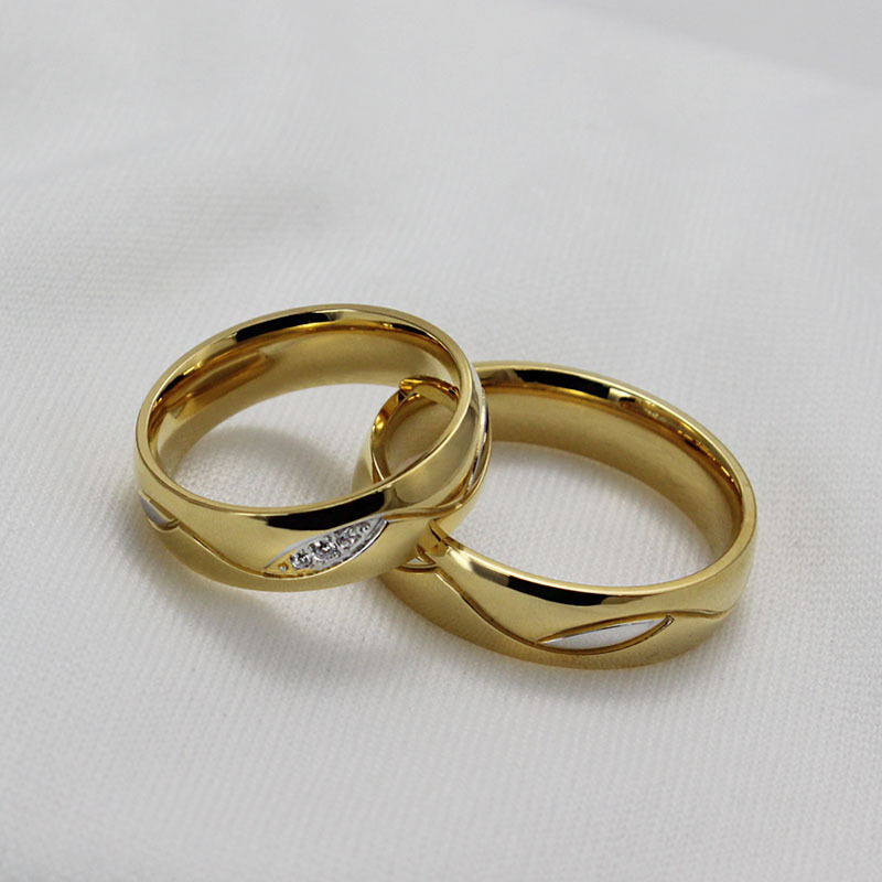 Wedding Golden Rings: Izyaschnye Wedding Rings: 18k Gold Wedding Ring Sale
