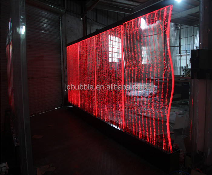 Decorative Led Water Bubble Panel Office Glass Wall Partitions - Buy Wall  Partitions,Used Glass Office Partitions,Glass Divider Wall Partition  Product