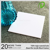 good price solid surface blister porcelain white acrylic sheet