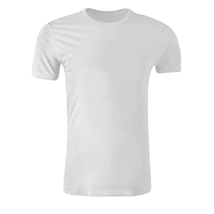 Cheap Blank White Election T Shirt Below $1 100% Polyester White Tshirt With Customizable Printings