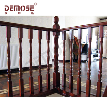 Wood Spindles Banisters Railing For House Deck