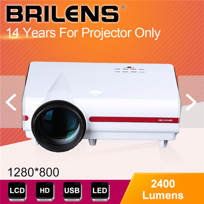 Brilens Ivy LED Digital Projector 720P,High brightness Celling mounted Projector,High lumens Home theater using Projector