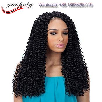 cheap african free tress deep wave twist braiding hair synthetic free tress  crochet braids bulk hair 9e5cee74cb45