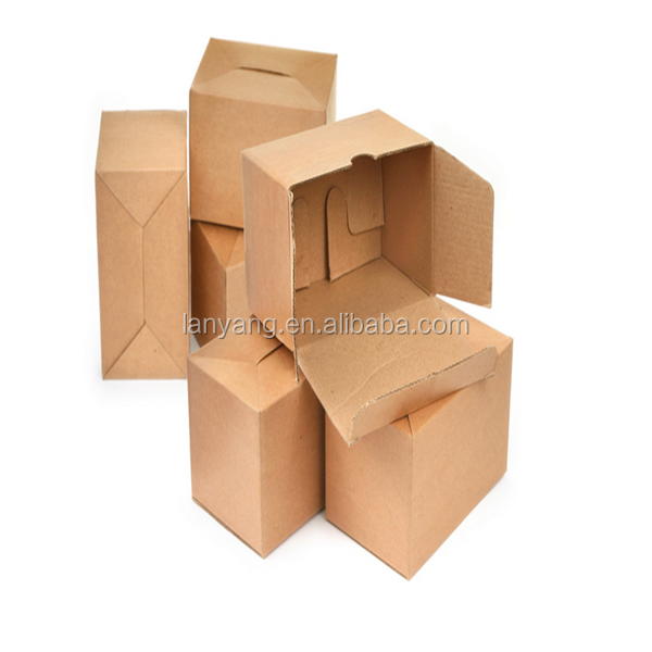 Custom Brown Kraft Packaging Gift Foldable Box Wedding Party Favour/Handmade Soap Box