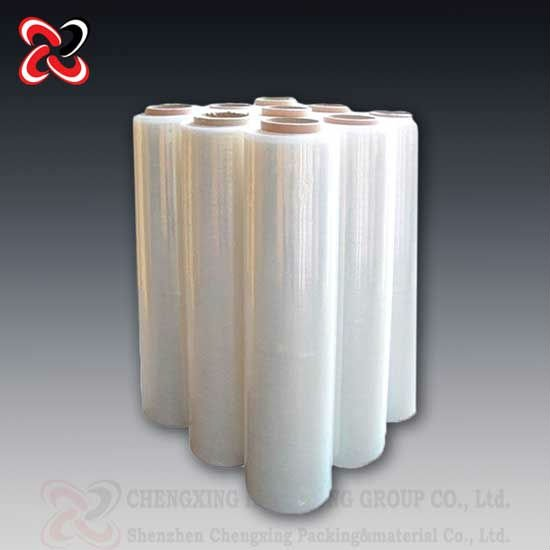High intensity 80 gauge cast ldpe protection shrink stretch wrap supplier