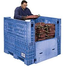 1200*1000mm plastic collapsing folding crate