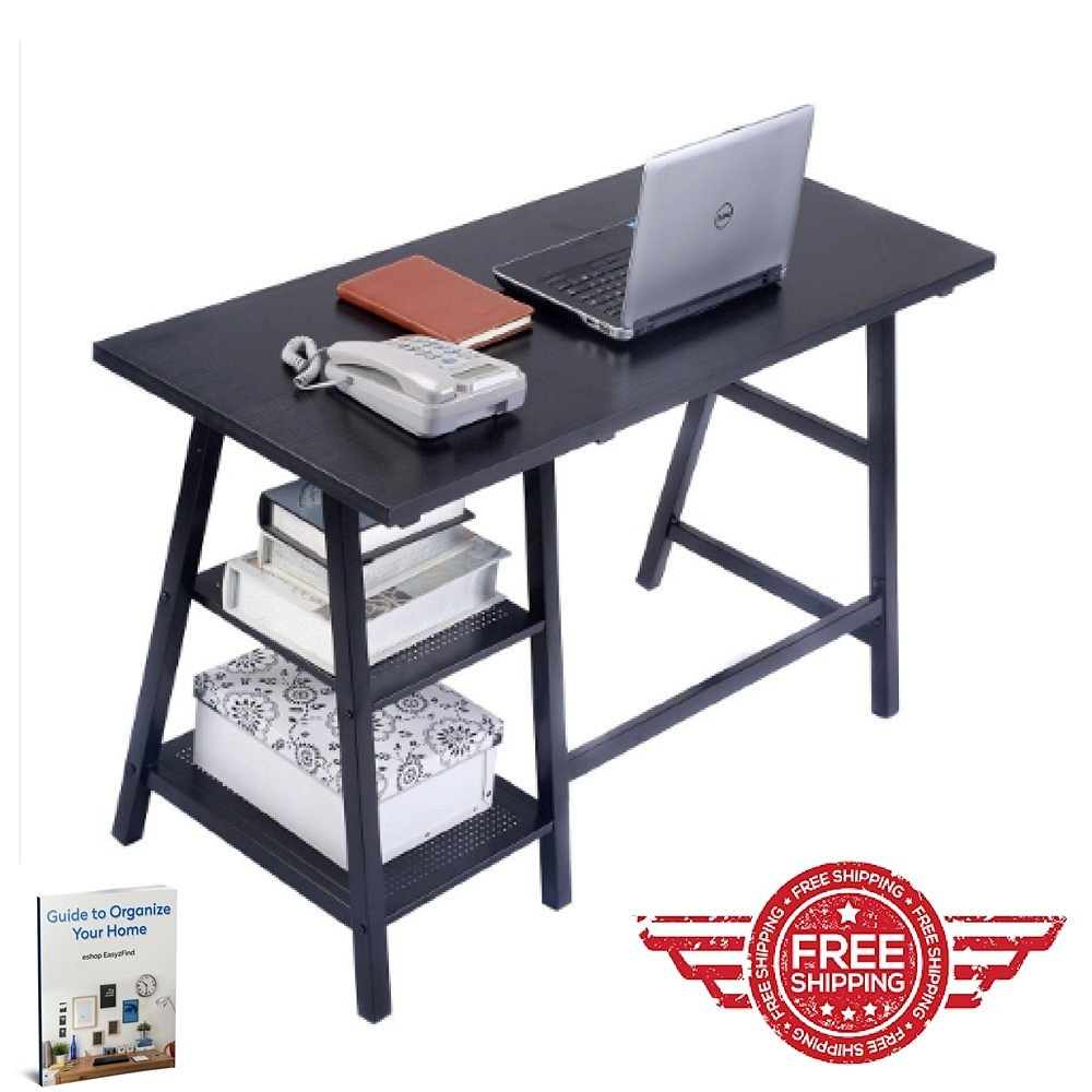 buy computer desk for home office black office table furniture work