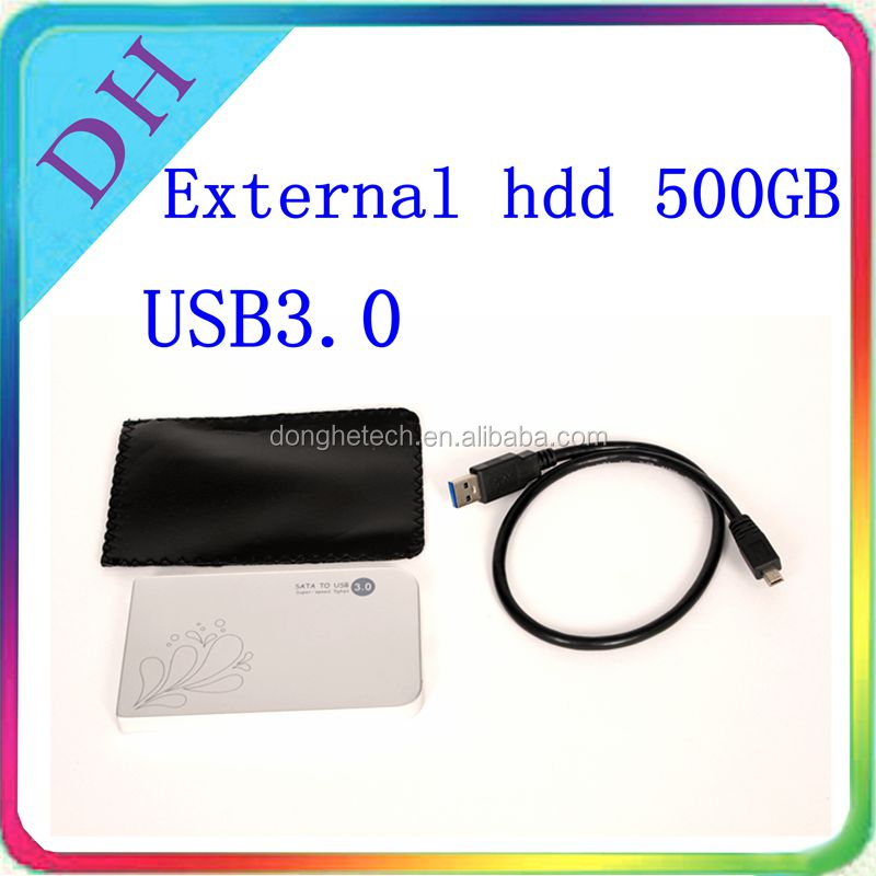 OEM external hard disk 500gb USB3.0 2.5inch 5.4K portable hard drive for notebook